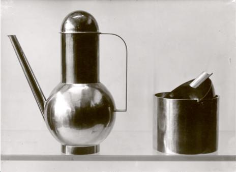 Diseño de Marianne Brandt para Bauhaus.